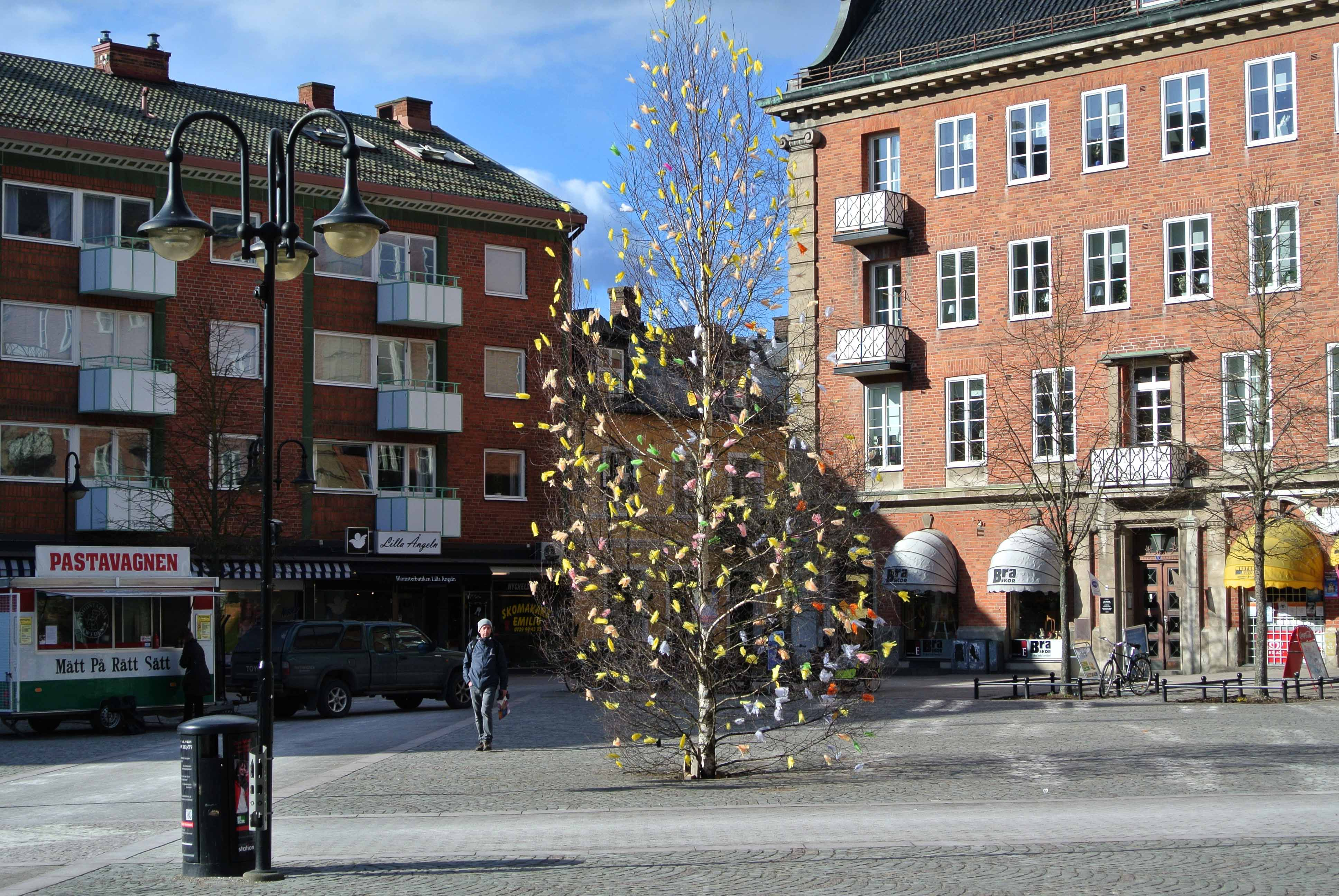 Stortorget Hässleholm påsken 2013