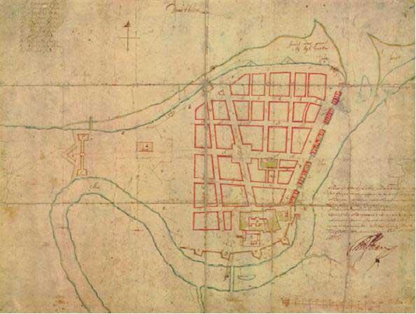 Cicignons plan 1681