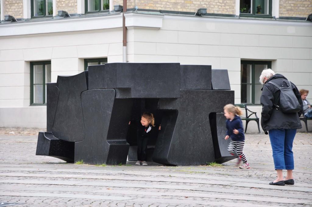 Stortorget Lund konstverk