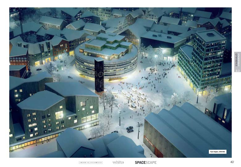 Vinterbild stadstorget