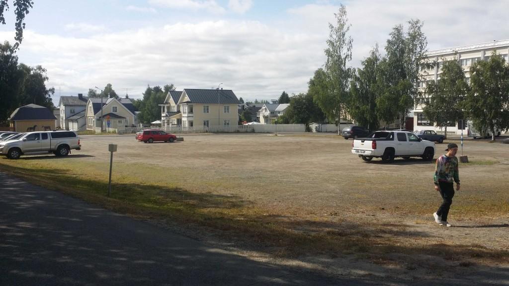 Torget i Torneå