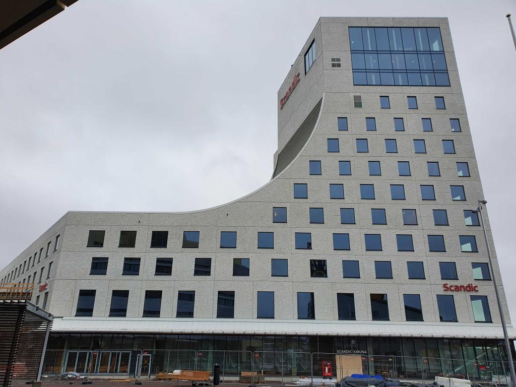 Scandics nya hotell som invigs våren 2022.